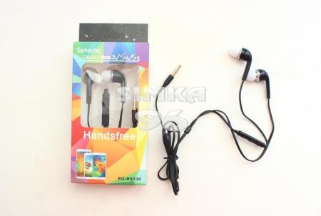 Наушники вакуумные с микрофоном  Samsung EO-HS330  с регулятором громкости