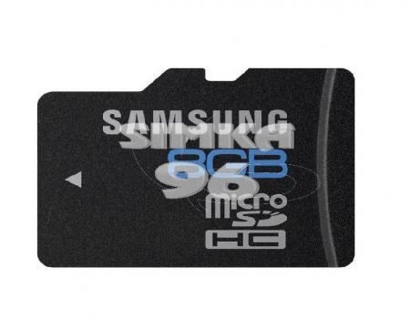 MicroSD  Samsung  8Gb