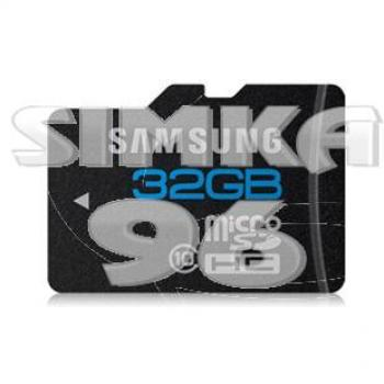 MicroSD  Samsung 32Gb  10 Class
