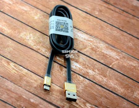 Кабель microUSB  BYZ BL-605  1.0m (плоский)