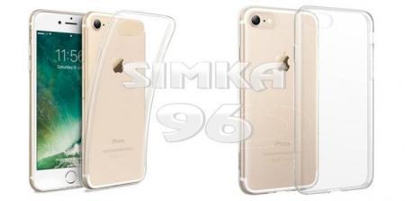 Чехол задник для iPhone 7+ гель прозр.