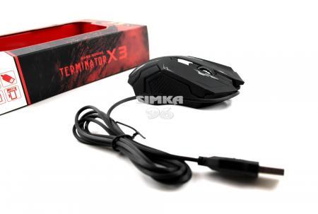 Мышь проводная игроваяTerminator X3