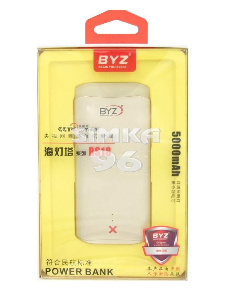 Портативное зарядное устройство  Power Bank  BYZ  BS18 5000 mAh