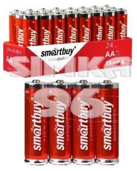 Батарея АА Smartbuy Ultra alkaline 2А24S