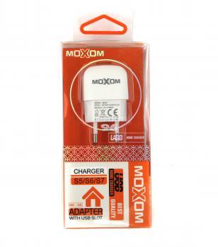 СЗУ 2 в 1 MicroUSB MOXOM KH-05 1A