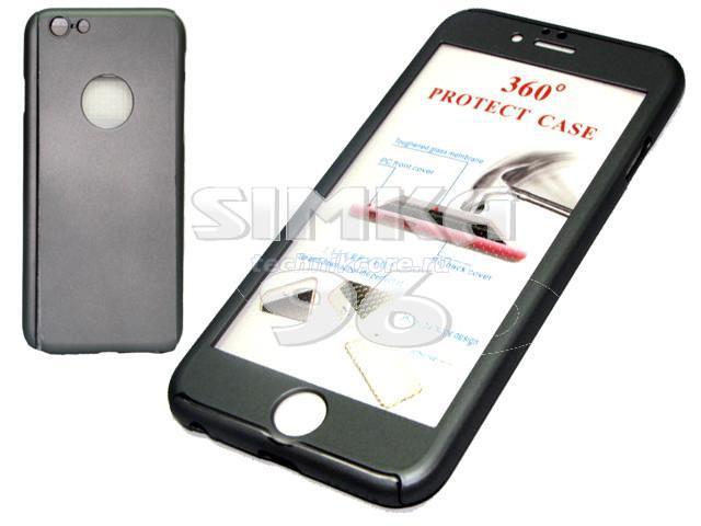 Чехол 360 градусов+стекло iPhone 7+