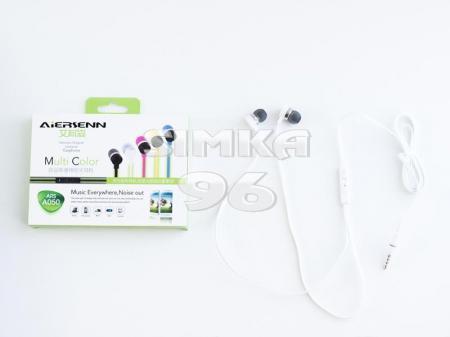 Наушники вакуумные с микрофоном  ARS A050  (Samsung, Nokia, iPhone)