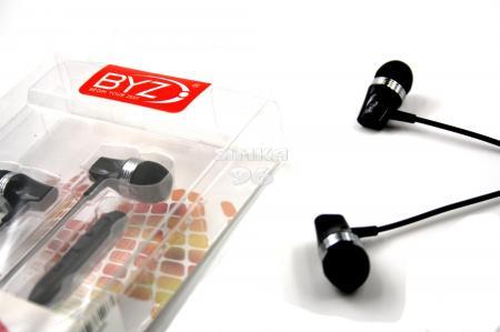 Наушники вакуумные с микрофоном  BYZ- SE560  (Samsung, Nokia, iPhone)