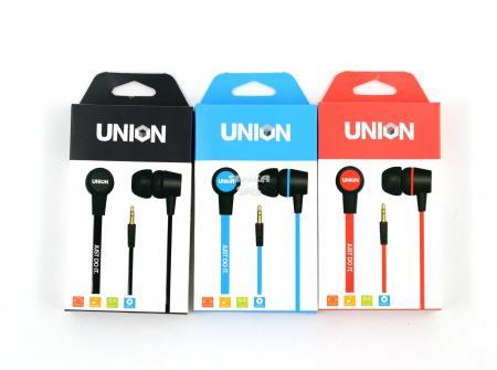 Наушники Union вакуумные без микрофона