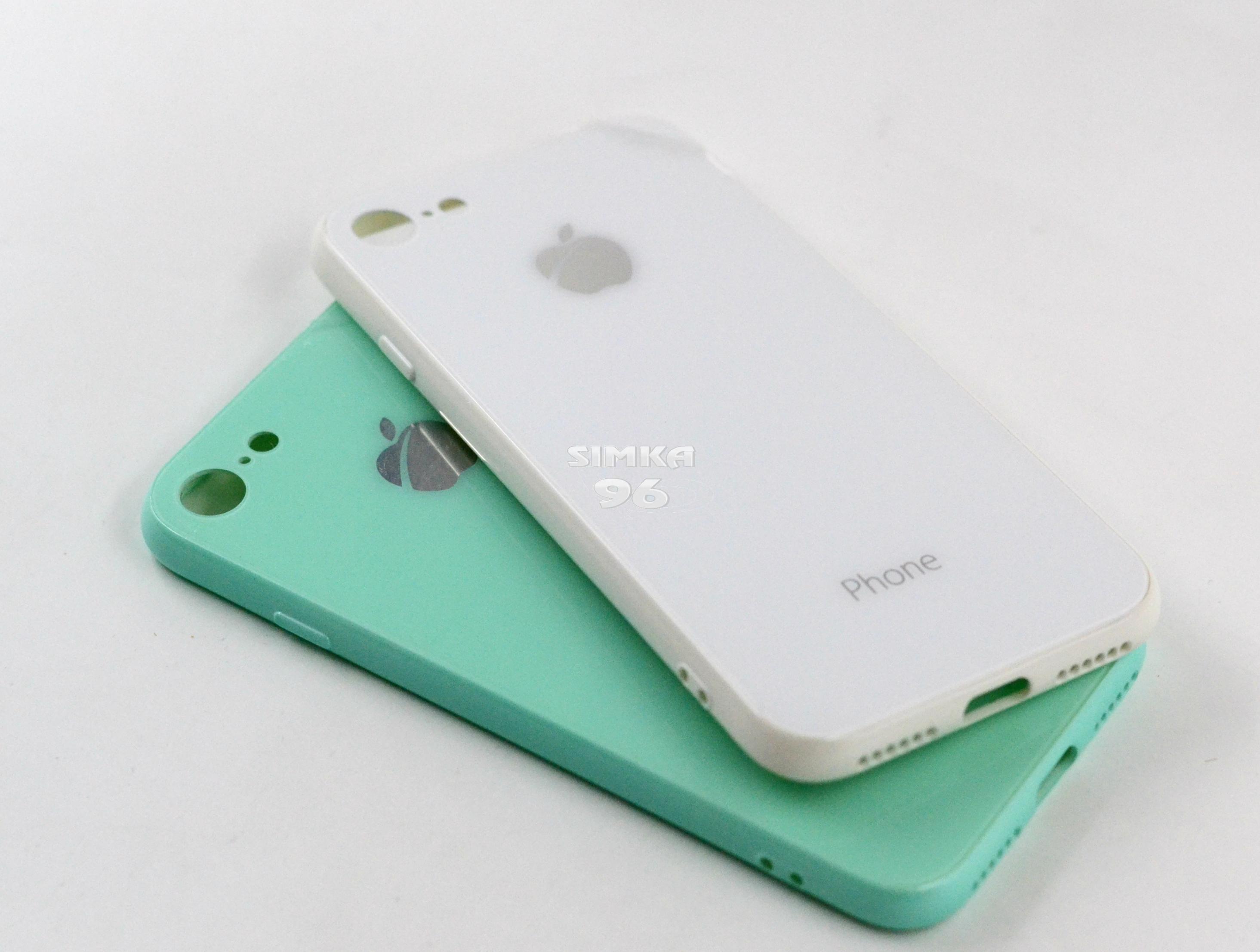 Чехол задник для iPhone 7 гель лакированный