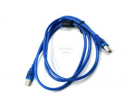 Кабель для принтера USB 2.0  1.5м