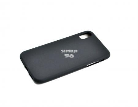 Чехол задник для iPhone Х силикон