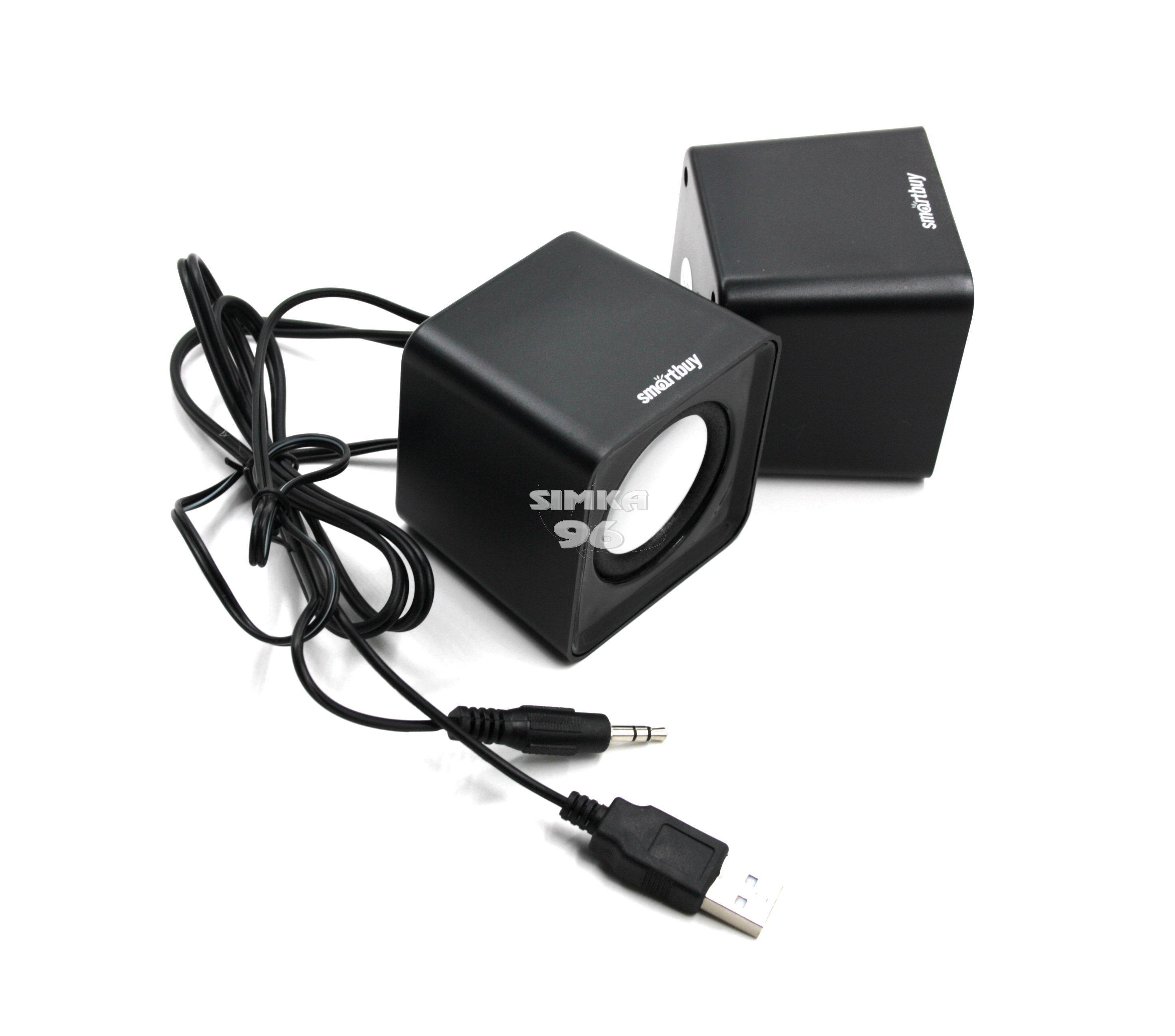 Акустическая система 2.0 Smartbuy SBA-2800 MINI 4Вт, питание от USB