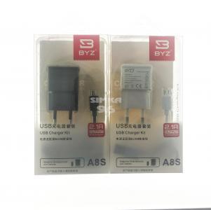 СЗУ 2в1 BYZ Micro A8S 2.1A
