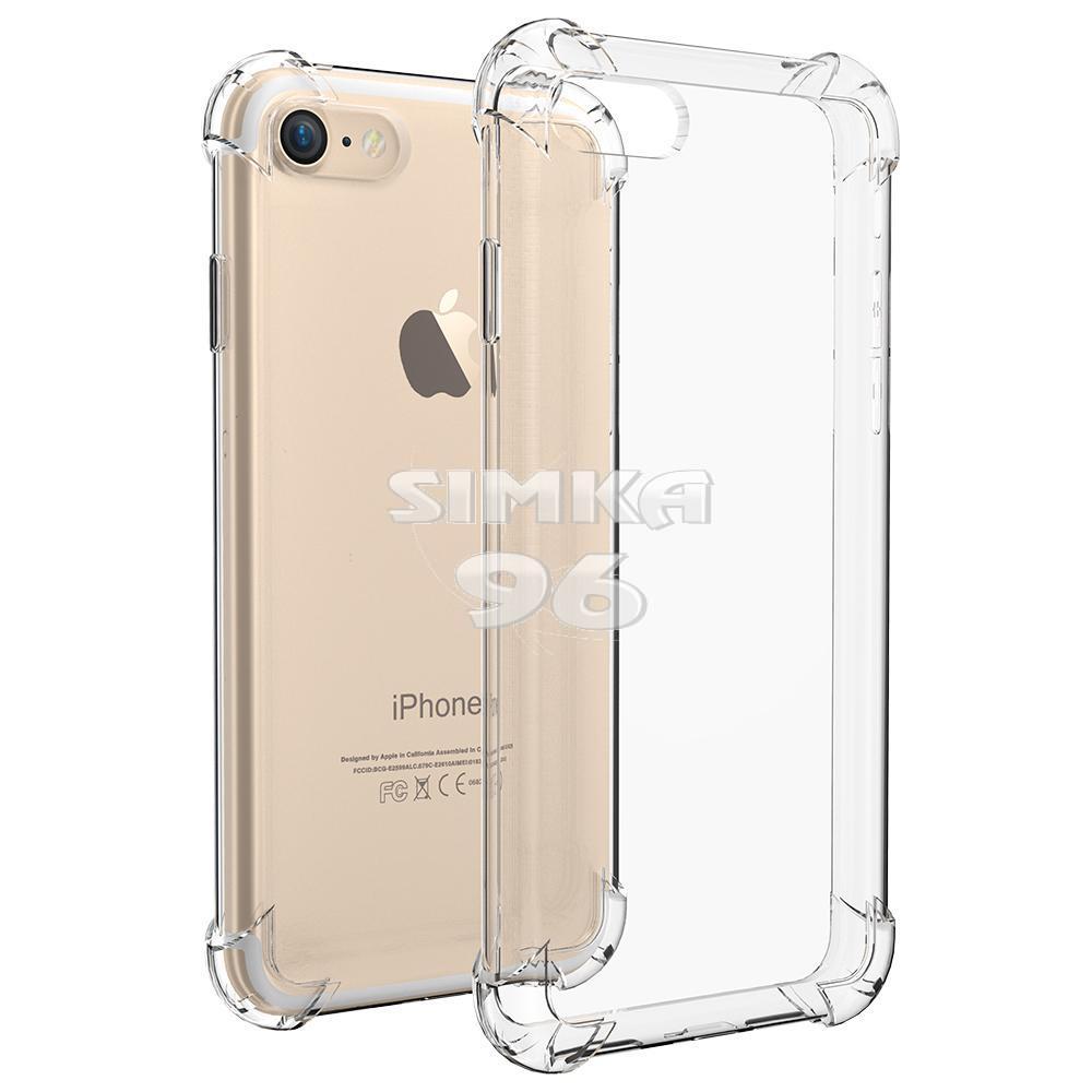 Чехол задник для iPhone 7+ гель плотный с ушками