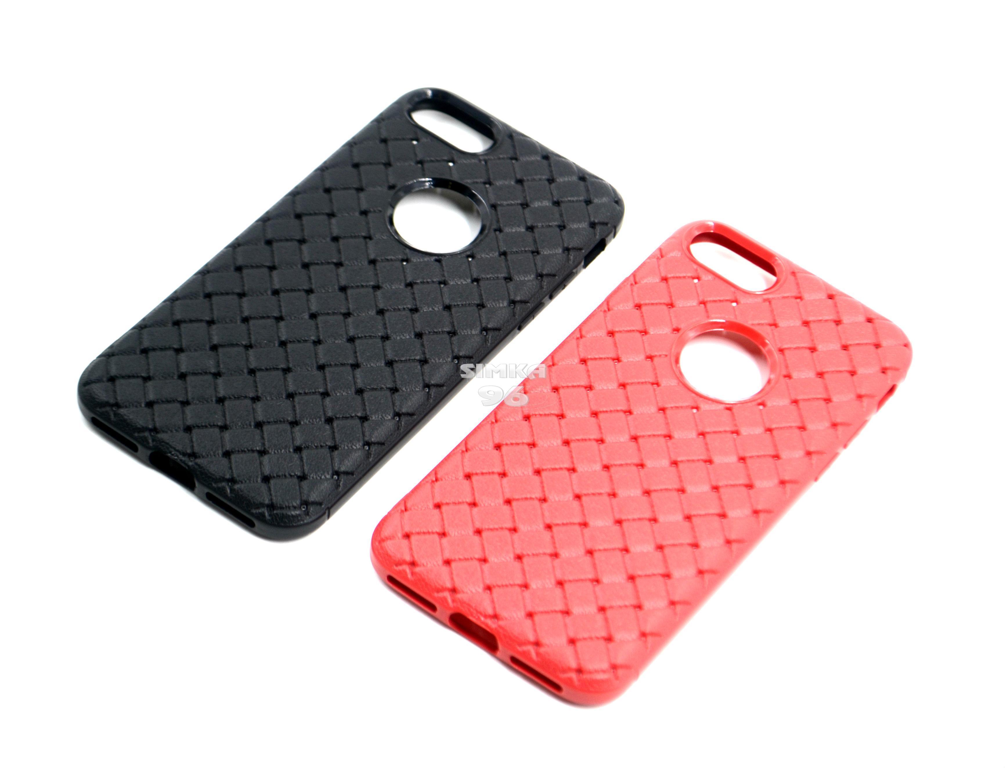 Чехол задник для iPhone 7 силикон плетёный
