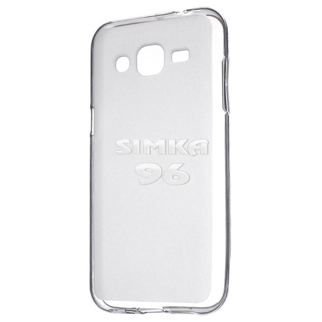 Чехол задник для Samsung J120 гель прозр.