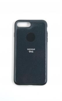Чехол задник для iPhone 7+ гель блестки