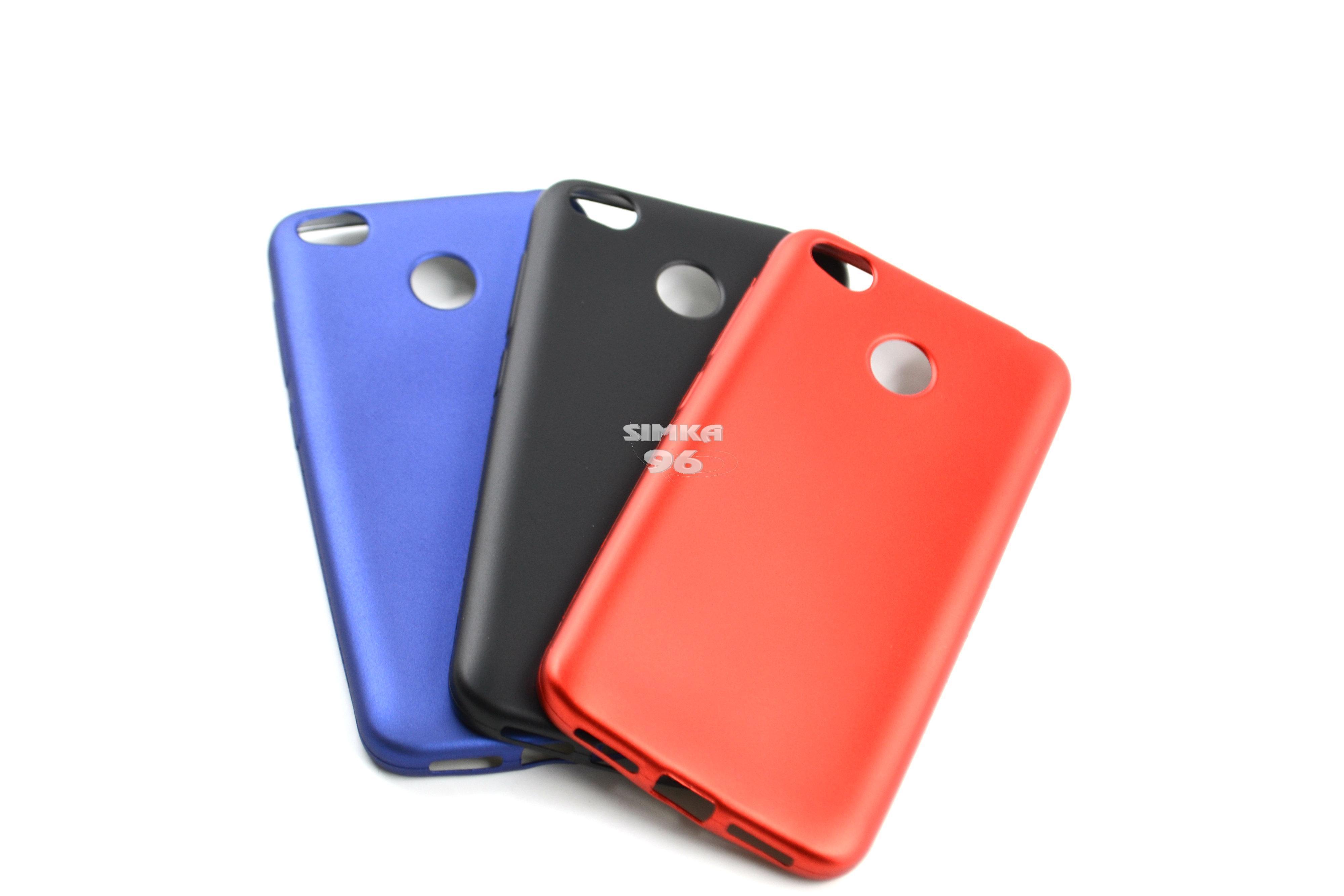 Чехол задник для Xiaomi Redmi 4X силикон матовый
