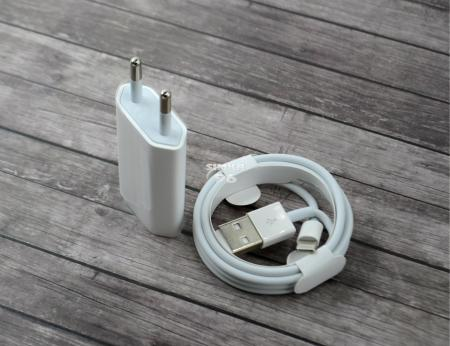 СЗУ 2 в1 для iP Х 5W USB Power Adapter