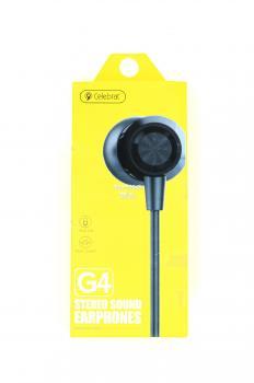 Наушники вакуумные с микрофоном Celebrat G4