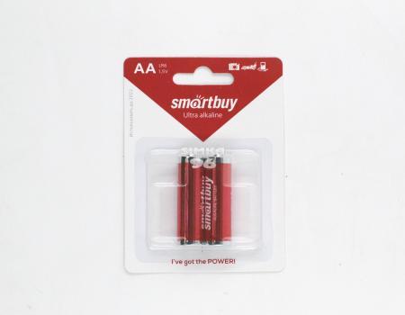 Батарейка АА Smartbuy  alkaline 2А02В блистер (20шт)