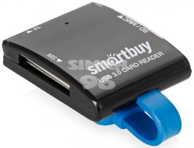 Хаб Картридер USB 3.0  Smartbuy SBR-700-K