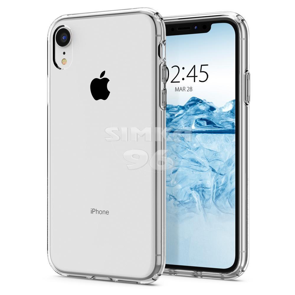 Чехол задник для iPhone Хr гель плотный прозр.