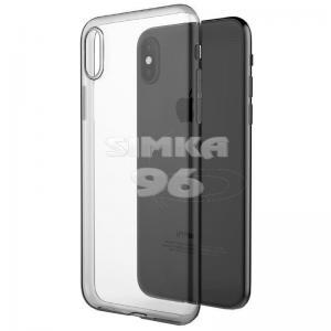 Чехол задник для iPhone Хs гель прозр.