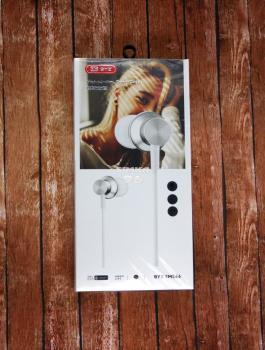 Наушники BYZ- SM566 вакуумные с микрофоном