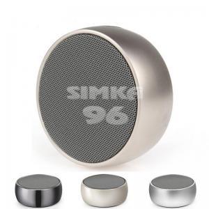Колонки Blutooth Wireless Speaker Simplisity металл+кольцо