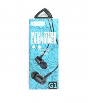 Наушники вакуумные с микрофоном Celebrat G1