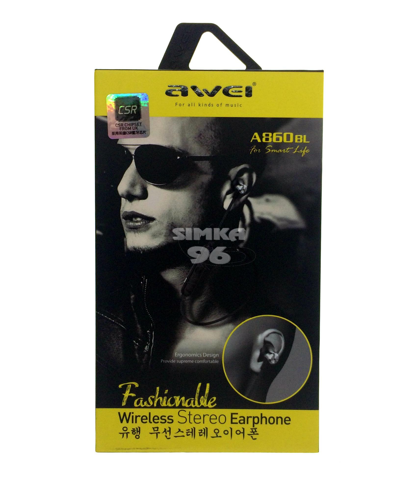 Наушники Bluetooth AWEI A860BL
