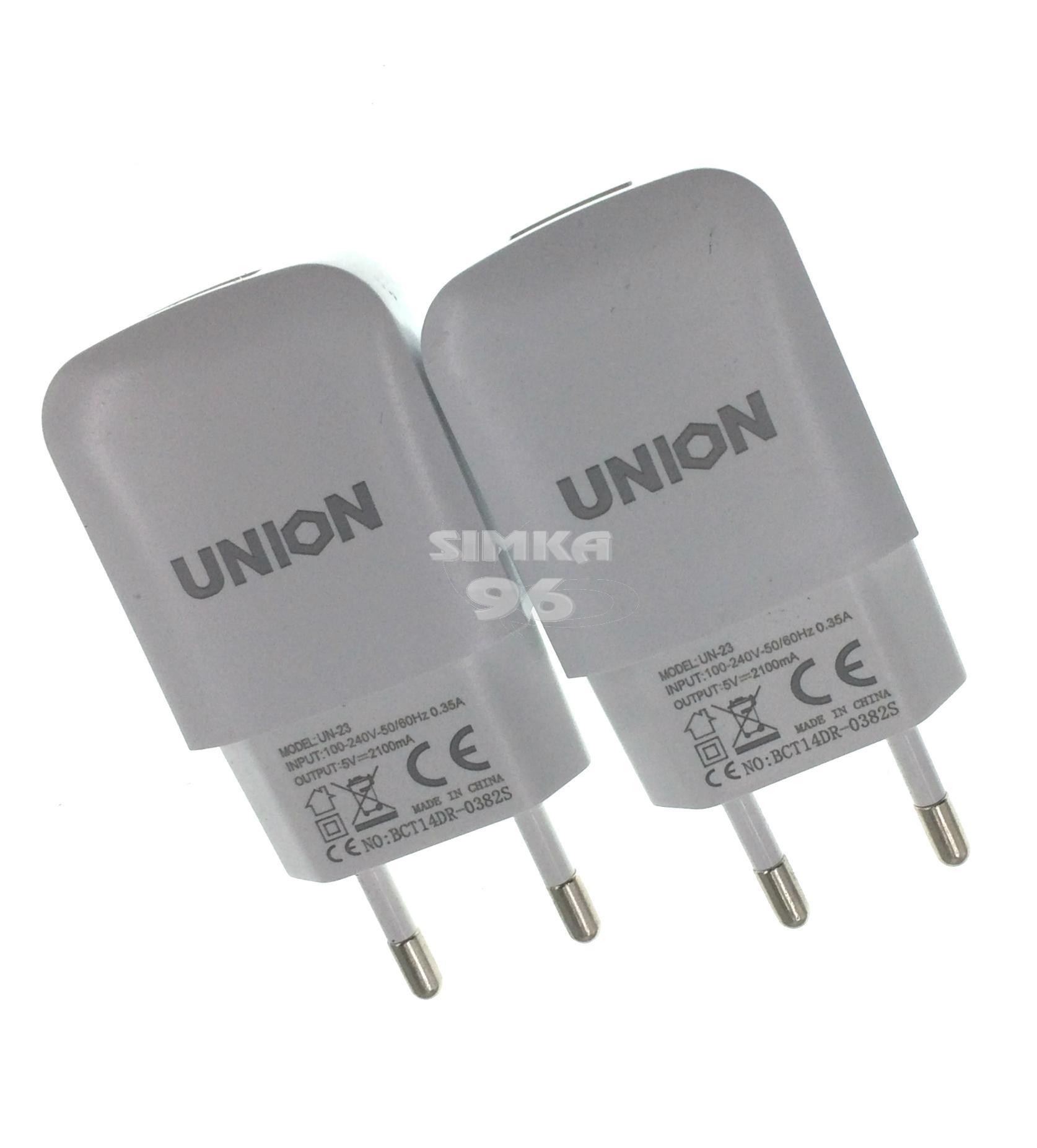 СЗУ  1 выход USB  2.1А  UNION
