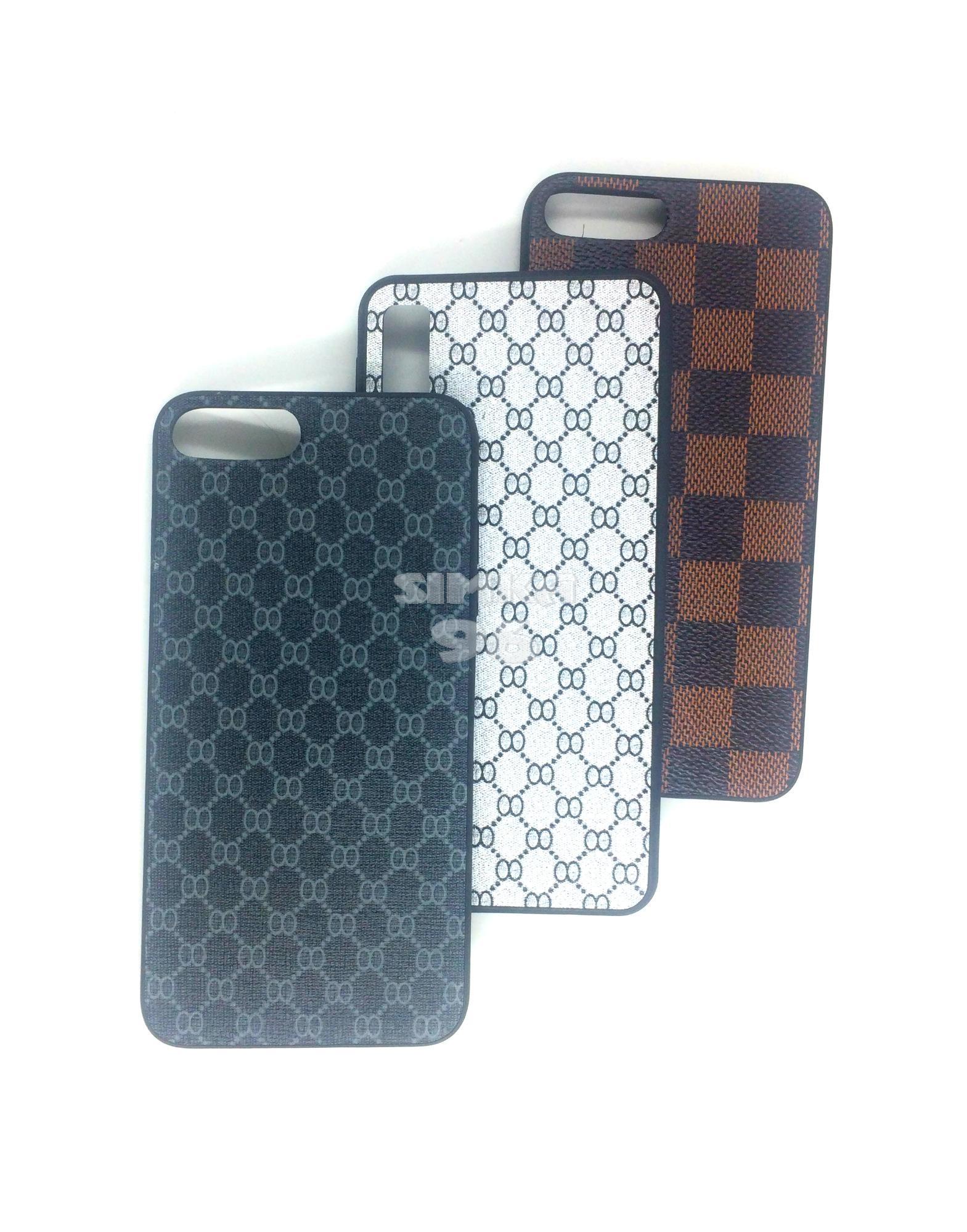 Чехол задник для iPhone Хs MAX силикон геометрия