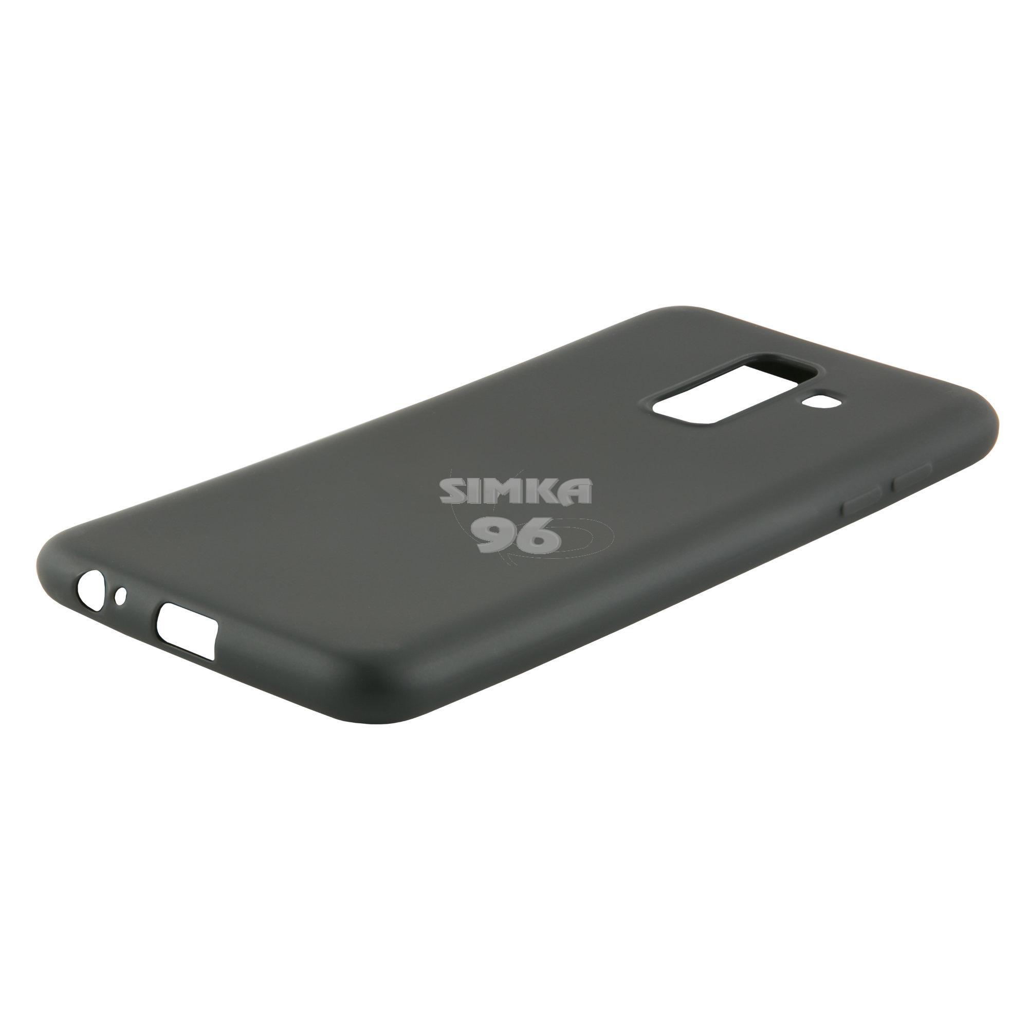 Чехол задник для Samsung А8+ силикон