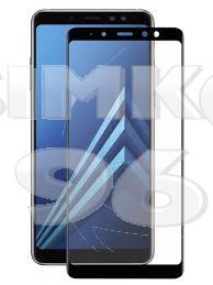 Защитное стекло для Samsung А8 3D техупаковка