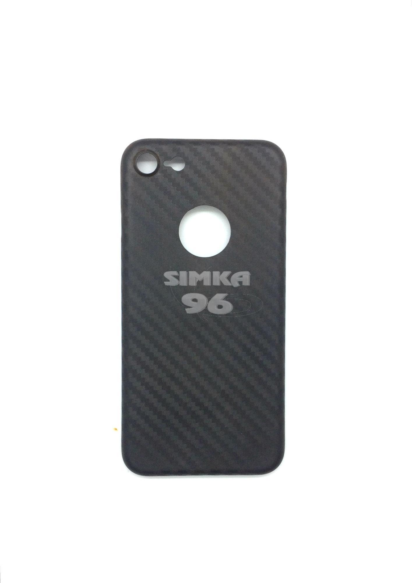 Чехол задник для iPhone 7 карбон