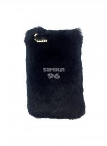 Чехол задник для iPhone 7 силикон мех-стразы