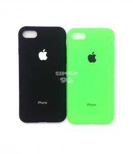 Чехол задник для iPhone 7 гель цветной матовый