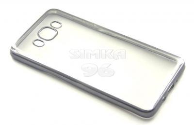 Чехол задник для iPhone 7 гель с рамкой