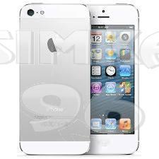 Защитное стекло для iPhone 5 5D техупаковка