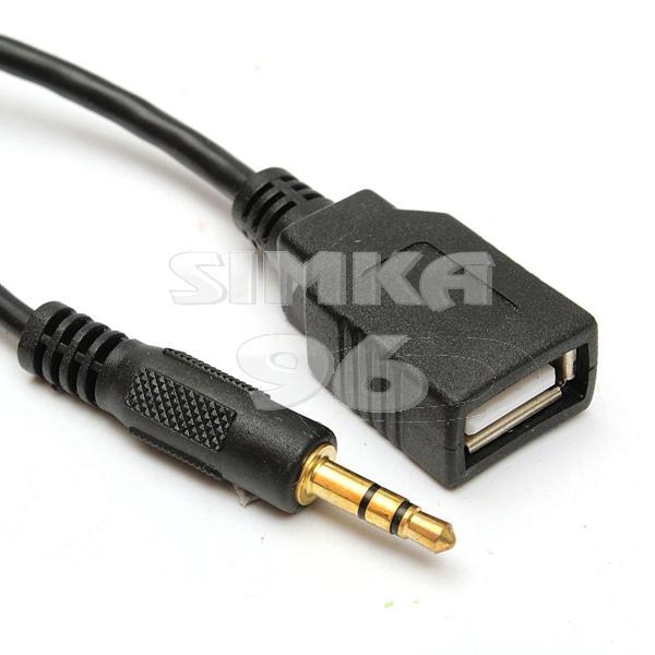 Переходник AUX на USB вход 1м
