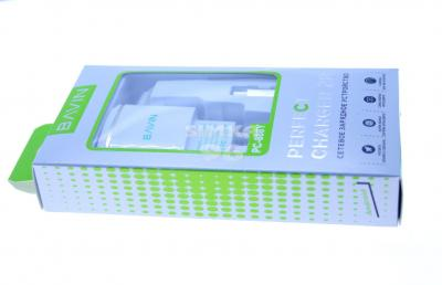 СЗУ BAVIN PS-888Y MicroUSB+1выход USB 2A