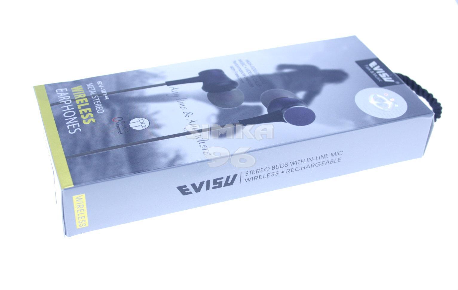 Наушники Bluetooth Evisu EV-W14