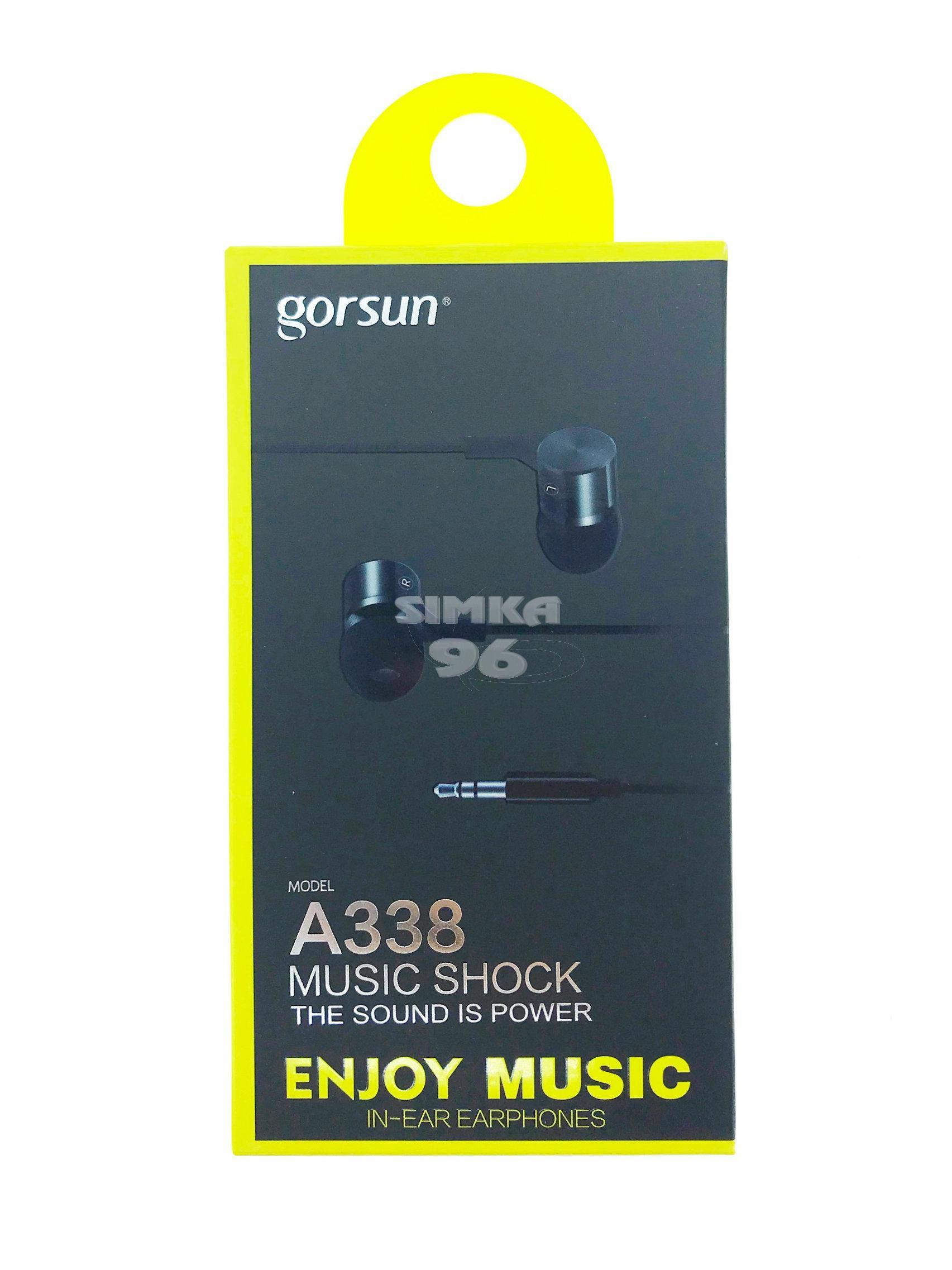 Наушники Gorsun A338  вакуумные с микрофоном