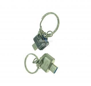 Переходник OTG Type-C - USB 3.0 (брелок)