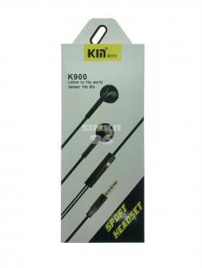 Наушники не вакуумные с микрофоном  KM K900
