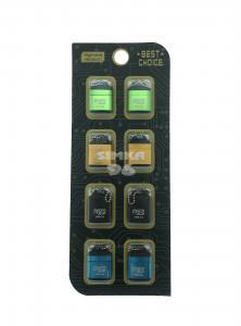 Кардридер MicroSD металл 8 шт