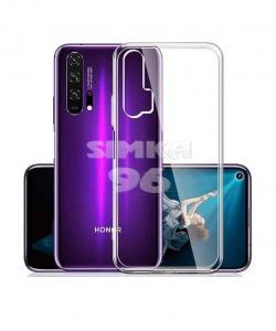 Чехол задник для Huawei Honor P30 гель прозр
